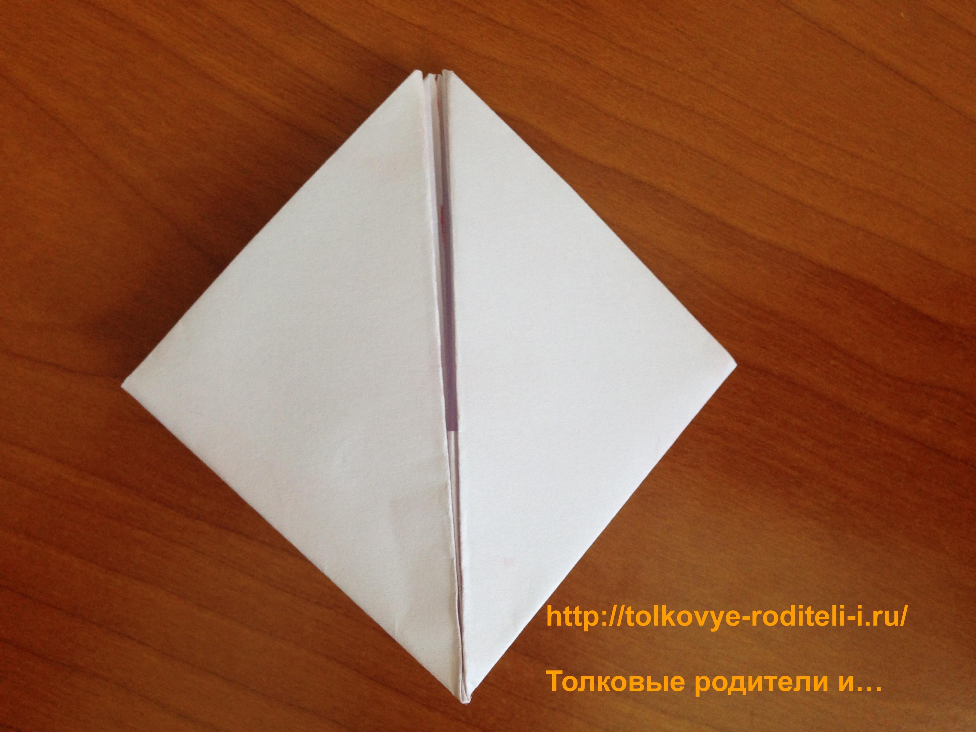 Сделать кораблик из бумаги пошаговое