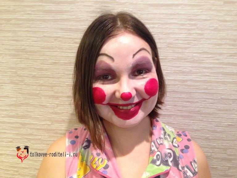 Грим клоун