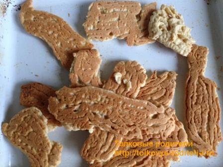 Печенье для торта Муравейник